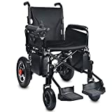 Wheelchairs Ligera Manual Plegable Silla de Ruedas eléctrica de Doble propósito con Movable reposapiés cómodo Almohada Vespa Ancianos