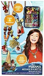 Moana - Message in a Bottle Necklace Activity Set