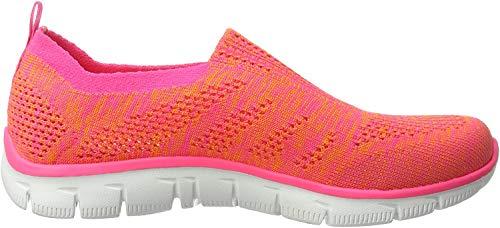 Skechers Empire-Inside Look, Zapatillas para Mujer, Naranja (Orhp), 37 EU