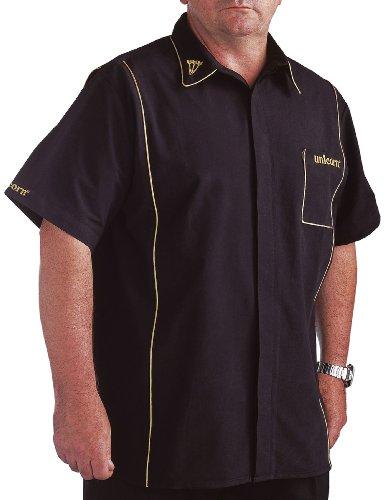 Unicorn Darts Shirt Teknik Men's schwarz/Gold Small