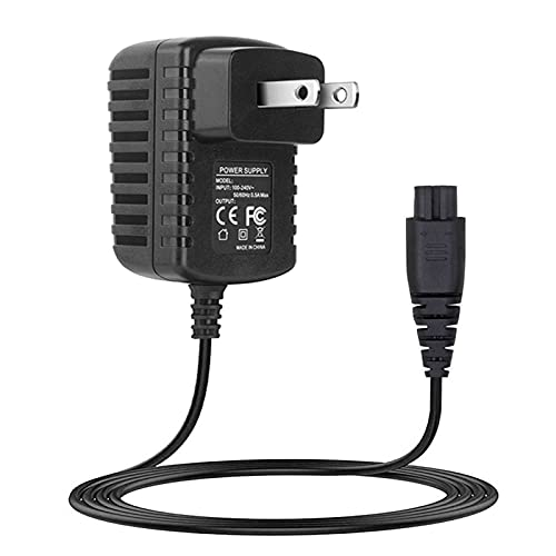 Power Cord for Remington Shaver HC4250 HC5870 PF7500 PF7600 Replacement Charger for Remington Razor PG6170 PG6250 4.5ft Extra Long Charging Cord for PF7600 F8 Series XR1400 PR1240