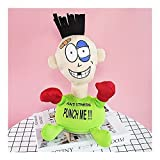 Z-Color Descompresión y ventilación de Escritorio Boxeo Bostezando Punch Muñeca Oficina Toys Tricky Spoof para aliviar el aburrimiento Bola de Boxeo de ventilación (Color : Green)