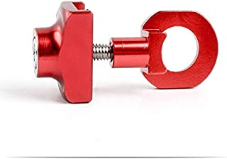 HGJVBFGH1 Folding Bike Ultralight Aluminum BMX Chain Tensioner Fastener Chain Red