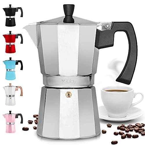 Zulay Classic Stovetop Espresso Maker for Great...