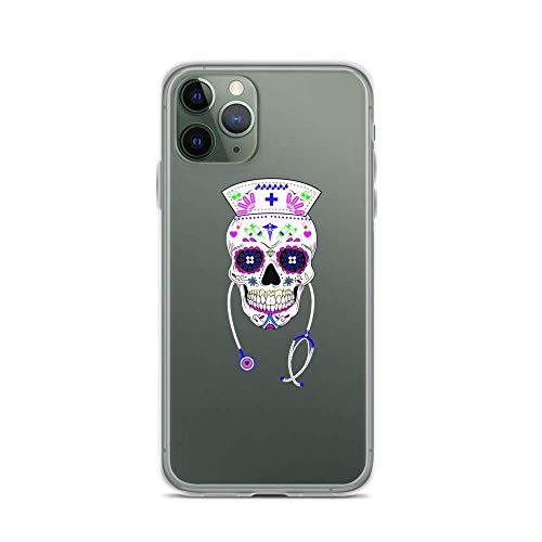 Phone Case Cool Halloween Skulls Coffee Mug Nursing Nurses Gift Women For Men Women 1909 Compatible With iPhone 6(+/S/S+) 7/+ 8/+ X,XS,XR,XS-MAX 11(Pro,Pro Max).Samsung S9/Plus S10/Plus S20/Plus/Ultra