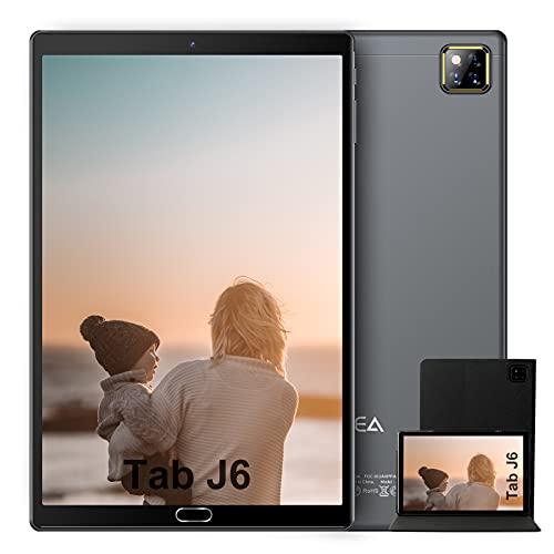Tablet 10 Pollici Android 10.0 - RAM 4GB | ROM 64GB - WIFI -Octa core (Certificazione GOOGLE GMS) -JUSYEA Tablets - 6000mAh Batteria - Custodia di Alta Qualità(Grigio)