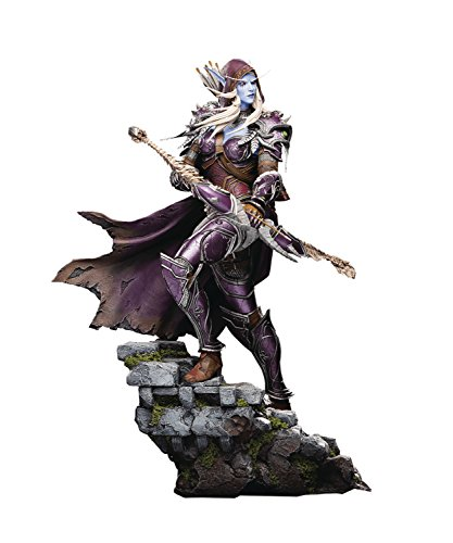 Blizzard World of Warcraft: Sylvanas Windrunner Toy Figure Statues