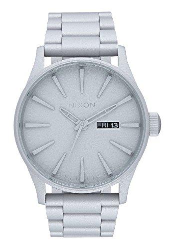Nixon Unisex Analog Quarz Uhr mit Edelstahl Armband A3562339-00