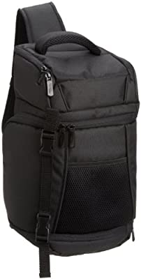 AmazonBasics SLR Camera Sling Backpack Bag - 8 x 6 x 16.5 Inches, Black