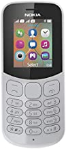 Nokia 130 Mobile Phone, Less than 512 MB Dual SIM Grey NOKIA 130