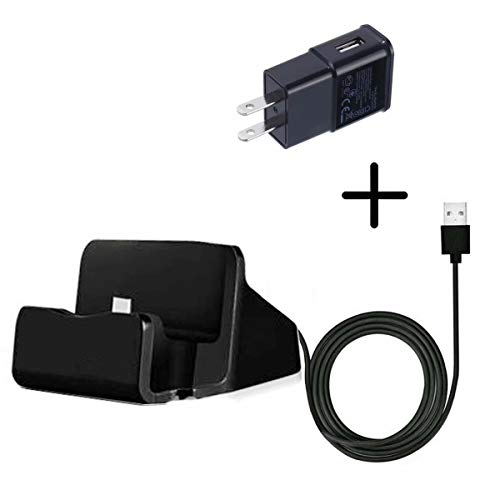 (Taelectric) Desktop Dock Charging Charger Sync Cable Cradle Station for TracFone/Total/Net10 LG 237C LG237c