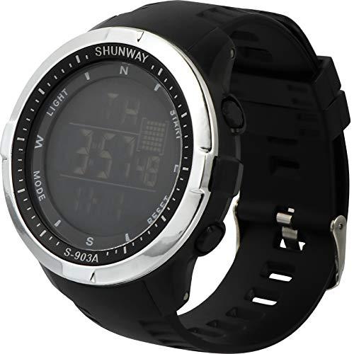 BESPORTBLE Reloj Deportivo Digital Pantalla LED Impermeable Reloj Luminoso Informal para Hombres Y Mujeres