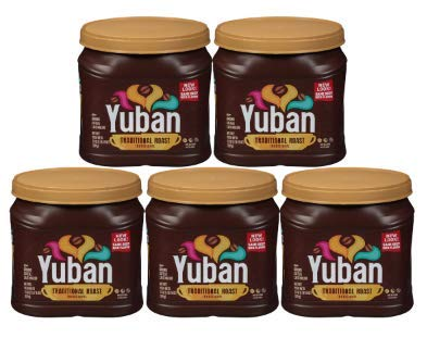 Yuban Premium Coffee, Medium Traditional Roast, Ground, 31 Ounce (Pack of 5)
