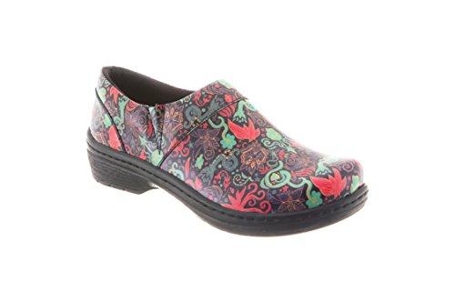 Klogs Footwear Women's Mission Medium Mardi GRAS Patent Size 070