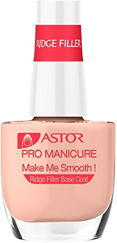 Astor Pro Manicure Nagellack Ridge Filler Base Coat, Farbe 006, Make Me Smooth, 1er Pack (1 x 12 ml)