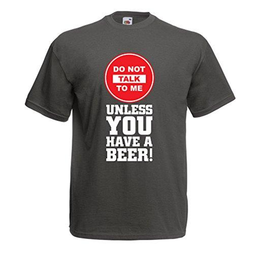 lepni.me Camisetas Hombre ¡Citas de los Amantes de la Cerveza! Ideas Divertidas del Regalo del Alcohol, Ropa para la Fiesta, Camisas para Beber, Pub, refrán del Bar (XX-Large Grafito Multicolor)