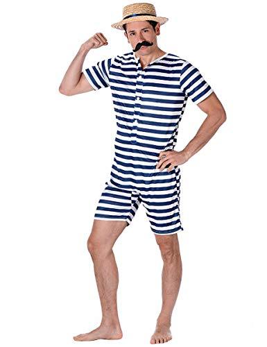Karnival 82100 mannelijk badpak kostuum, heren, multi, groot
