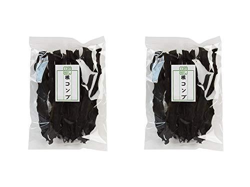 根昆布 100g×2袋 (北海道産根こんぶ) 昆布の中で栄養分が凝縮された根コンブ おでん 煮物等にお勧め 長コンブ (だし工房)