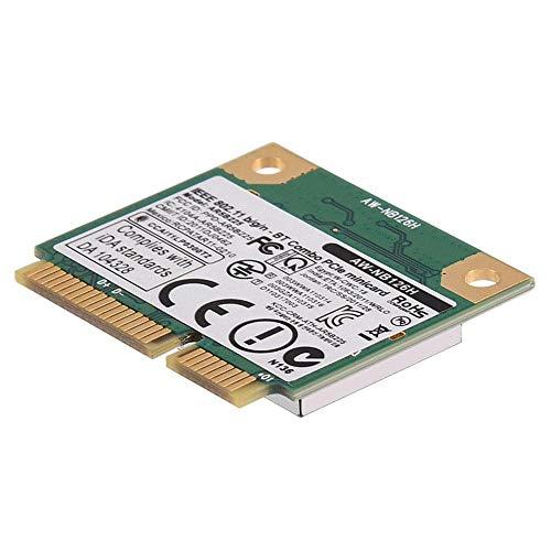 Ausla WiFi Karte 24G 2 in 1 Bluetooth WLAN kabellos fur Mini PCIe Karte fur DellASUSToshibaBenQ