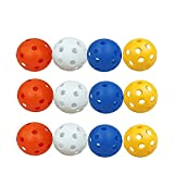 <span class='highlight'><span class='highlight'>LILI</span></span>S Plastic Hollow Golf Training Balls,Practice Golf Balls for Men Garden Indoor,Outdoor (White,Blue,Red,Yellow). (Size : 24pcs)