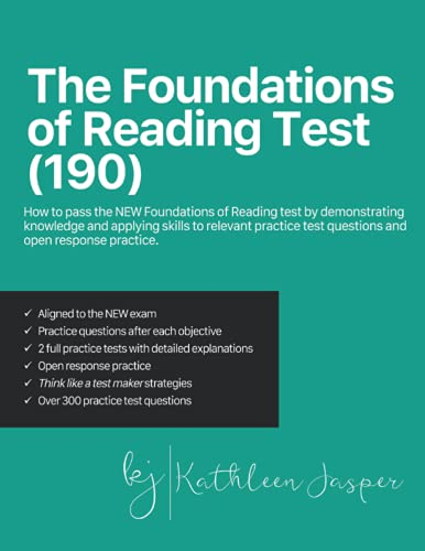 The Foundations of Reading Test (190): How to pass the NEW...