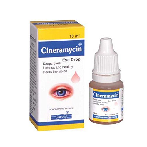 HAPDCO Cineramycin Eye Drops Better Eye sight (10...