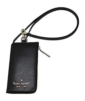 Kate Spade New York Card Case Staci Lanyard Card Holder Black