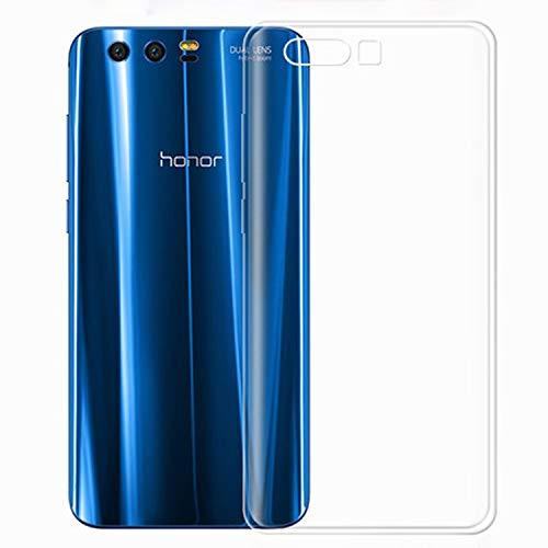 NEW'C Coque Compatible avec Honor 9, Coque de Protection avec Absorption de Choc et Anti-Scratch Ultra Transparente Silicone en Gel TPU Souple