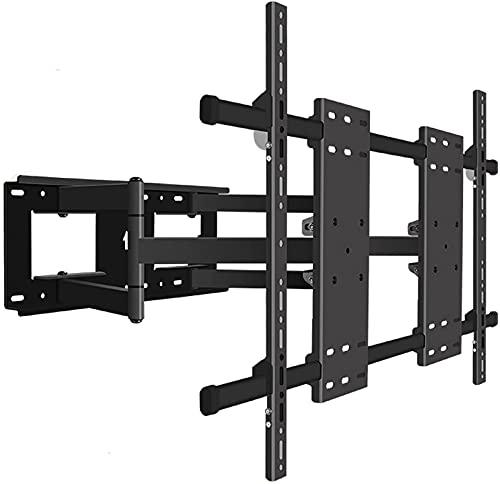 Soporte para TV Soporte telescópico universal para TV Soporte para TV inclinable giratorio de seis brazos Soporte para TV montado en la pared de alta resistencia para la mayoría de 70-12 pulgadas