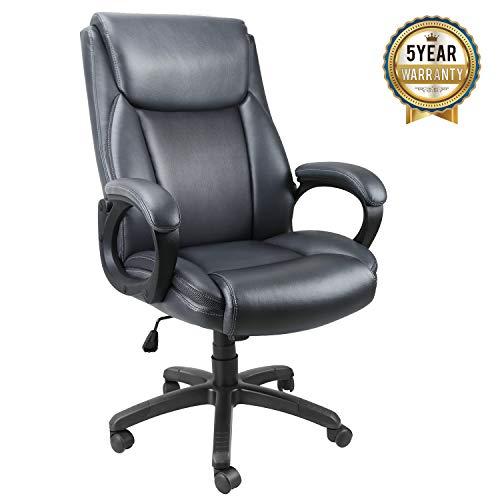 Mysuntown Mid-Back Office Chair, Mesh Task Chair, Executive...