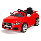 Vroom, Audi Kids Electric Ride-On Car, Official TT RS (Plus) with Working Headlights