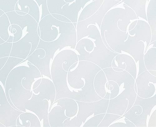 Fablon Fine Décor - Pellicola Decorativa adesione elettrostatica per vetri e finestre, Motivo Floreale, 67,5 x 150 cm