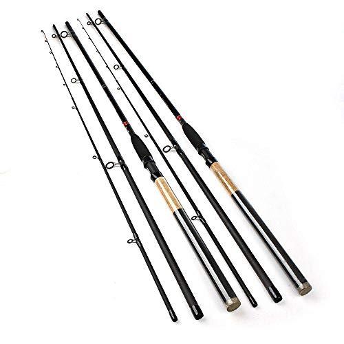 FISHYY Caña De Pescar Alimentador High Carbon Super Power 3 Secciones 3.6M 3.9M Lure Weight 40-120G Feeder Caña De Pescar Feeder Varilla