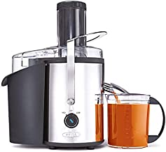 BELLA High Power Juice Extractor, Stainless Steel, Easy To Clean Electric Juicer for Whole Fruits & Vegetables with Dishwasher Safe Filter & Pulp Container (13694)