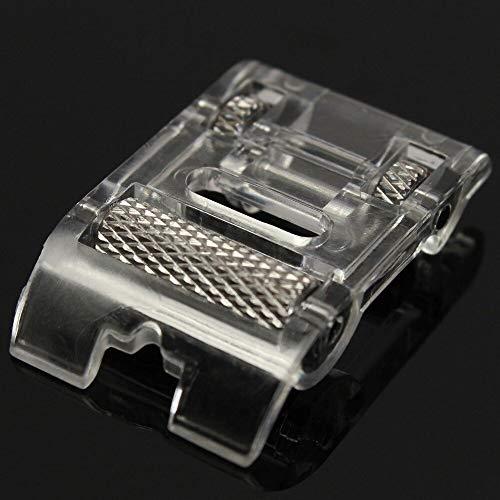 Beste kwaliteit – naaimachines – hot sale 1 stuks low sank roller pers voet voor snap vingers brother janome art sewing machine accessoires – van Rocco – 1 pc bruin