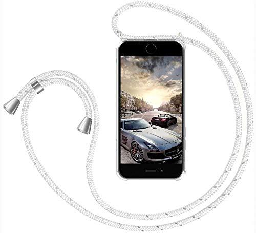 GoodcAcy Funda con Cuerda para Samsung Galaxy S7 Edge Pantalla en Cristal...