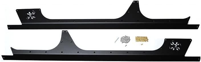 EVO-1047-4DBT 4 Door RockSkins JK Black Powdercoated Steel