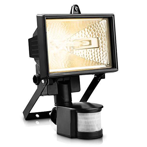 FiNeWaY 400W Motion PIR Sensor Halogen Floodlight Security Garden Outdoor...