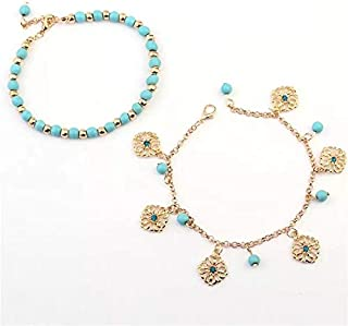 Arabic style beach anklet for women and girls bikkini accesories style