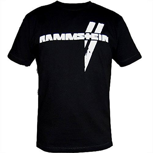 Rammstein, T-Shirt Wei§e Balken-XL
