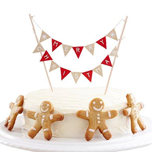 Kerstversiering voor taarten slinger