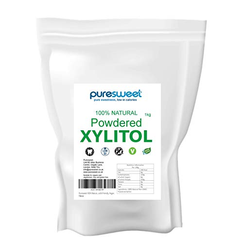 Puresweet - xilitol en polvo, 100 % natural, 1 kg, alternati