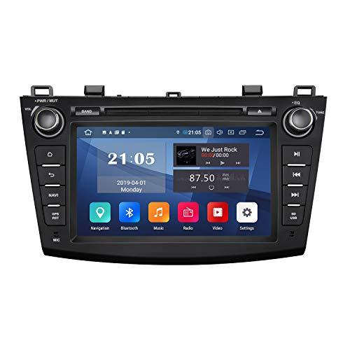 2020 Autoradio, Doppel-DIN, Autoradio, Android Eonon Android 9, für Mazda 3 Serie, unterstützt Apple Carplay/Android Auto/Fast Boot/DVR/Backup-Kamera/OBDII -20,3 cm -GA9363