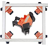 Corner Clamps for Woodworking - 90 Degree Right Angle Clamp 4PCS Adjustable Swing Corner Clamp Clip for Welding,Drilling,Making Cabinets,Boxes, Drawers,Picture Framing