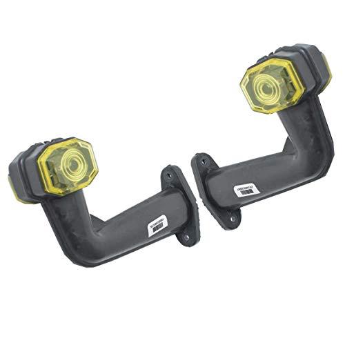 L + R 12V 24V LED Begrenzungsleuchten Umrißleuchte Positionsleuchten LKW E-prüfzeichen Anhänger