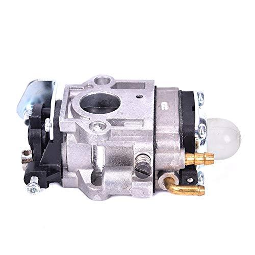 Carburador Mini-Carb carburador 43cc de 15 mm de aleación de plata R for Pocket Bike Accesorios de moto (Color : Silver)