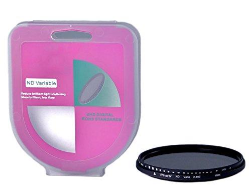 phot-r 72mm Professionelle Slim 400Variabler Dichte Verstellbare Filter Objektiv Zubehör