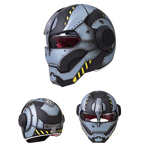 You will think of me Sie werden an mich denken Helmneuer Schwarzer Star Wars Mann Helm Motorradhelm Half Open Face Helm Abs Motocross, 12, M