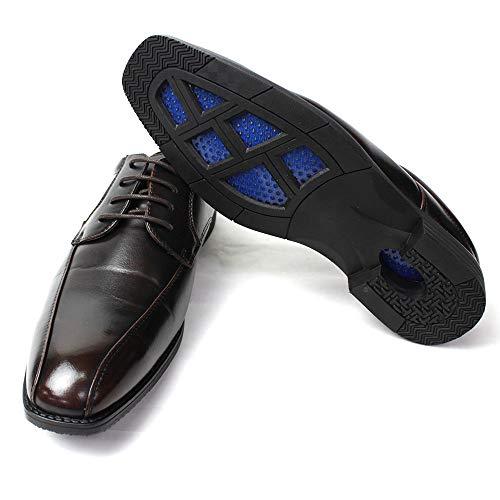 [CLOUD 9 クラウド・ナイン] ビジネスサンダル メンズ (軽量 蒸れ防止 通気性) ビジネス スリッパ 靴 かかとなし オフィス 脱ぎ履き楽々