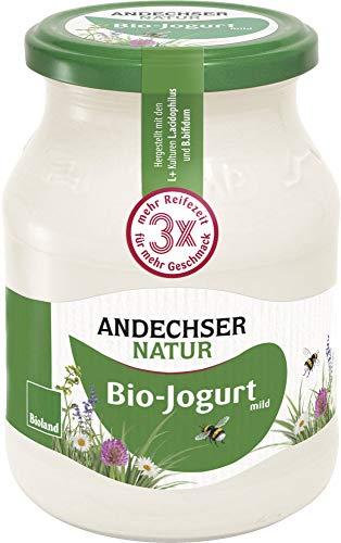 Andechser Natur Bio Jog. Natur mild 3,8% (6 x 500 gr)